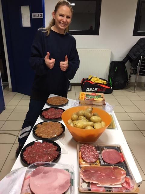 Soirée raclette… heu soirée inter-clubs Vétérans !